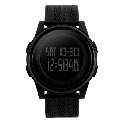 아재몰 디지털 손목시계_SKMEI 1206 LED Fashion Male Female EL Light 50M Waterproof Digital Watch