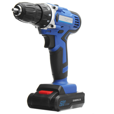아재몰 해외직배송_전동공구_드라이버_25V Lithium-Ion Battery Power Drill Driver Rechargeable Cordless Drill Electric Hammer Screwdriver