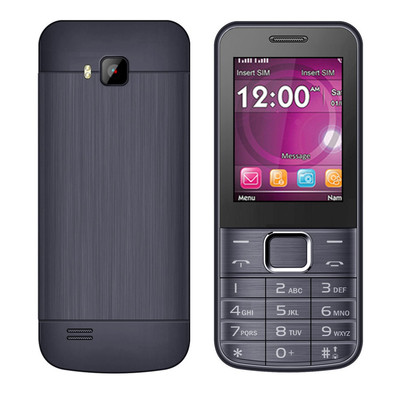 아재몰 해외직배송_피쳐폰_SERVO 225 2.4 Inch 1100mAh Bluetooth Whatsapp Fackbook FM MP3 Metal Body Dual SIM Card Feature Phone