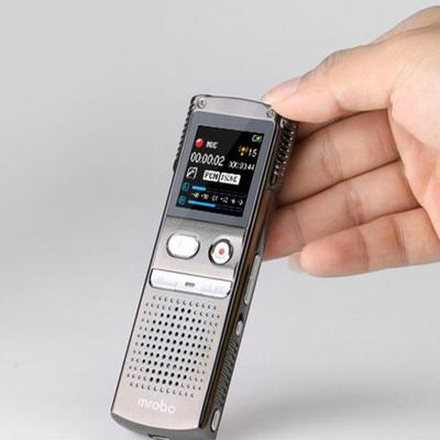 아재몰 해외직배송_녹음기_Mrobo M98 8G Mini Digital Audio Sound Voice Recorder MP3 Player Dictaphone