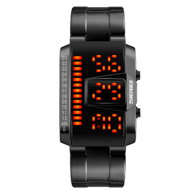 아재몰 디지털 손목시계_SKMEI 1179 LED Watch Fashion Alloy Case Swimming Men Sport Digital Watch