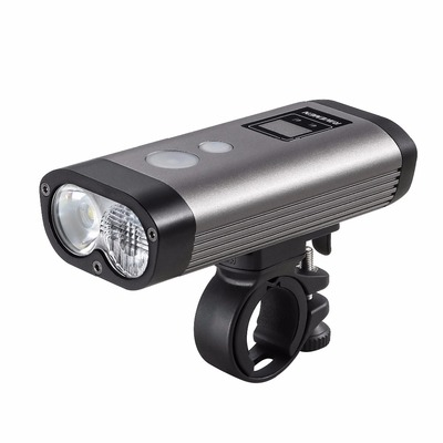 아재몰 자전거 헤드라이트 조명_RAVEMEN PR1200 1200LM 2*L2 Simulation Design of Automotive Bike Light 3 Modes 8 Brightness Levels