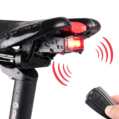아재몰 자전거 후미등 조명_ANTUSI 3 in 1 Bicycle Wireless Rear Light Cycling Remote Control Alarm Lock Mountain Bike Light
