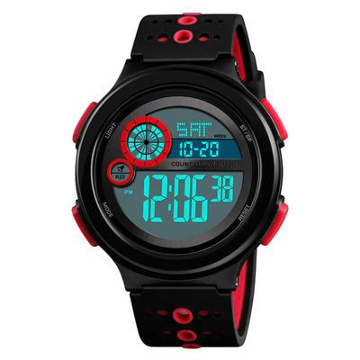 아재몰 디지털 손목시계_SKMEI 1374 Luminous Display 50M Waterproof Digital Watch Men Fashion Stopwatch Countdown Sport Watch
