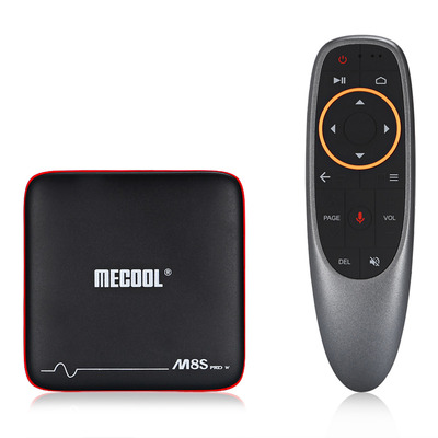 아재몰 해외직배송_셋톱박스_Mecool M8S PRO W S905W 1GB RAM 8GB ROM TV Box with Android TV OS Support Voice Input Control
