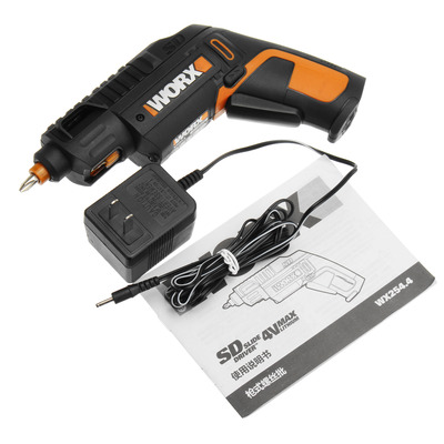 아재몰 해외직배송_전동공구_드라이버_WORX 4V Lithium Electric Screwdriver Cordless Slide Driver Household Rechargeable Screwdriver