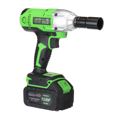 아재몰 해외직배송_전동공구_드릴_18-108V Cordless Impact Wrench Power Drills Hammer  High Torque 2 Li-ion Battery With LED Light