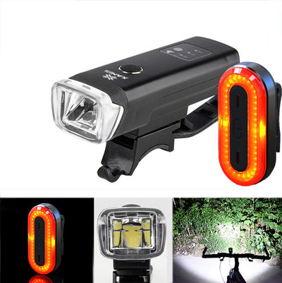 아재몰 자전거 라이트 조명세트_XANES SFL03 600LM XPG LED Smart Induction Bike Light STL03 100LM IPX8 Memory Mode Bicycle Taillig