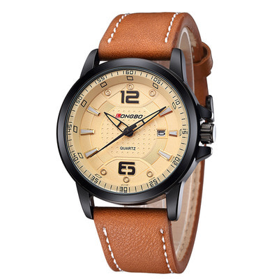 아재몰 디자인 손목시계_LONGBO 80212 Men Watch Luminous Casual Fashion Style Quartz Wrist Watch
