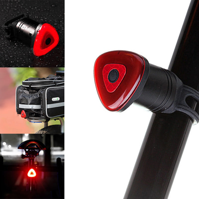 아재몰_(1461383)_자전거 후미등 조명_XANES STL15 Smart Brake Sensor Tail Light Bicycle Back Waterproof Safty Road Bike Cycling Motorcycle