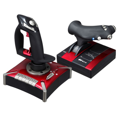 아재몰_(1083350)_스마트폰 게임 조이스틱_PXN-2119II Computer Flight Game Controller Joystick Simulation Gaming Rocker