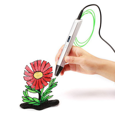 아재몰_(1095477)_3D 프린터펜_RP800A OLED 3D Printing Pen 5V 2A USB Power 0.6mm Nozzle Adjustable Speed
