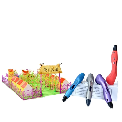 아재몰_(977109)_3D 프린터펜_FUNWELL 3D Printing Pen V3 With OLED Screen ABS/PLA Speed Adjustable Printer Pen For Children