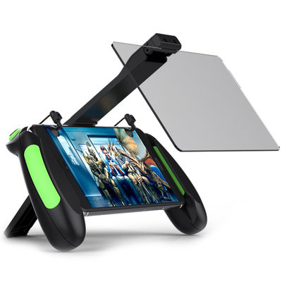 아재몰_(1387435)_게임패드_VR Shinecon B06 Phone Holder Gamepad Double Mirror Screen Amplifier for PUBG Mobile Game