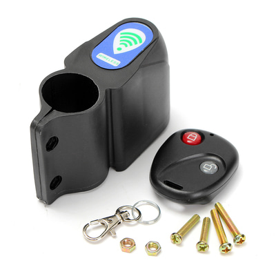 아재몰_(1184426)_자전거 알람 잠금장치_BIKIGHT Bike Alarm Anti Theft Lock with Wireless Remote Control Cycling Bicycle Bike Security