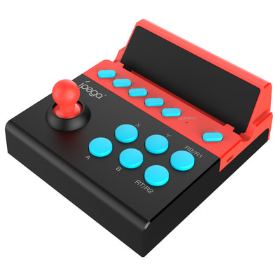 아재몰_(1524886)_아이페가 게임패드_iPega PG-9135 bluetooth Turbo Gamepad Game Controller Fight Stick for iOS Android Mobile Phone Tablet Analog Fighting Game