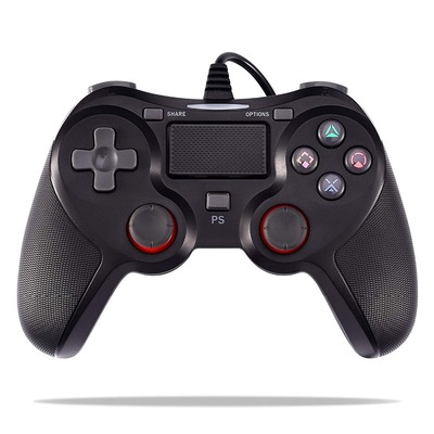 아재몰_(1441804)_게임패드_Wired Vibration Game Controller 1.5M USB PS4 Gamepad for PlayStation 4 PS4 Slim PS4 Pro Playstation 3 Game Console
