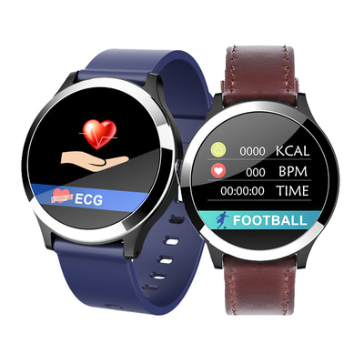 아재몰_(1417731)_스마트워치 시계_Bakeey B65 ECG+PPG Blood Pressure Heart Rate Monitor IP67 Intelligent Reminder Smart Watch