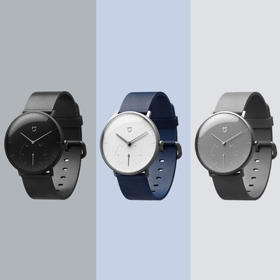 아재몰_(1325304)_스마트워치 시계 샤오미_Xiaomi Mijia SYB01 Quartz Watch Two Dial Intelligent Vibration Reminder Fitness Tracker Smart Watch