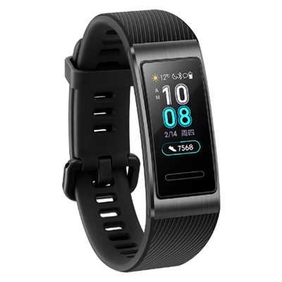 아재몰_(1441984)_스마트워치 시계_Original Huawei Band 3 Pro AMOLED Color Display GPS-built 5ATM Heart Rate Metal Frame Smart Watch Band