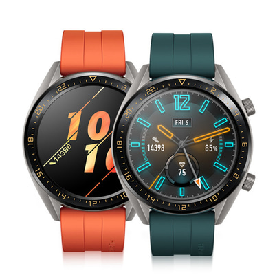 아재몰_(1452856)_스마트워치 스포츠시계_Huawei Watch GT Vigor Version AMOLED GPS Heart Rate Tracker Sports Mode QuickFit Strap 15Days Battery Life Smart Watch
