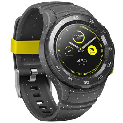 아재몰_(1414357)_스마트워치 스포츠시계_Huawei Watch 2 bluetooth Version bluetooth Call Dynamic Heart Rate NFC GPS IP68 8 Sports Mode Smart Watch
