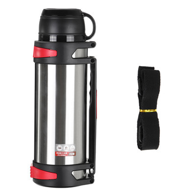아재몰_컵 물컵 물병 캠핑 휴대용컵_3000ml Vacuum Cup Stainless Steel Insulated Water Bottle Large Capacity Camping Hunting Water Pot