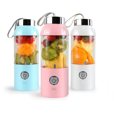 아재몰_컵 물컵 물병 캠핑 휴대용컵_550ml 60W USB Electric Fruit Juicer Bottle DIY Shaker Blender Juicing Extracter Cup