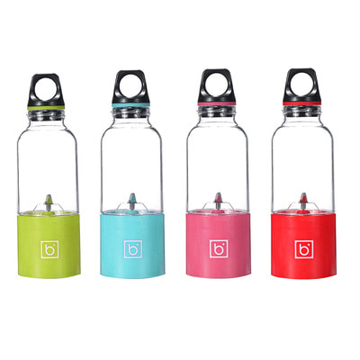 아재몰_컵 물컵 물병 캠핑 휴대용컵_500ml 60W USB Electric Fruit Juicer Bottle Portable Mini DIY Juicing Extractor Cup