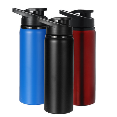 아재몰_컵 물컵 물병 캠핑 휴대용컵_700ml Outdoor Portable Water Bottle Stainless Steel Direct Drinking Cup Sports Travel Kettle