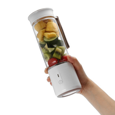 아재몰_컵 물컵 물병 캠핑 휴대용컵_Xiaomi Water Bottle AUGIENB 500ML Star Fruit Juicer Bottle Portable DIY Juicing Extracter Cup Magnetic Charging