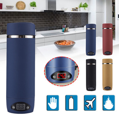 아재몰_컵 물컵 물병 캠핑 휴대용컵_420ML Vacuum Insulated Bottles Outdoor Camping Hiking Traveling Boiling Mug Electric Kettle Heating Cup