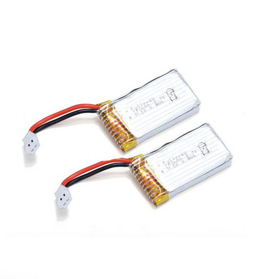아재몰_RC 헬리콥터 헬기 배터리_2PCS WLtoys V966 V988 V911S Helicopter Parts 3.7V 250mAh Lipo Battery V966-016