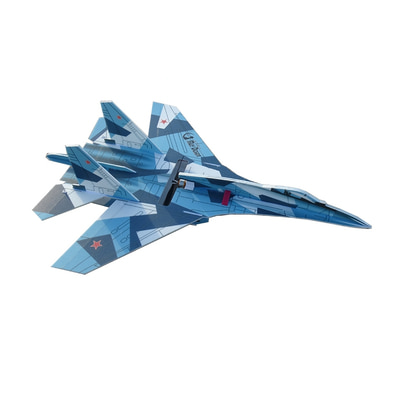 아재몰_RC비행기_SU27 760mm Wingspan PP RC Airplane Scaled Aircraft Fixed Wing KIT