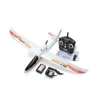 아재몰_RC비행기_WLtoys F959S Sky King 2.4G 750mm Wingspan EPO RC Glider Airplane RTF Mode 2 with 6-Axis Gyro