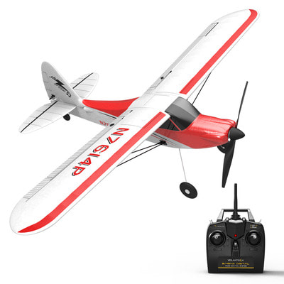 아재몰_RC비행기_Volantex Sport Cub 500 761-4 500mm Wingspan 4CH One-Key Aerobatic Beginner Trainer RC Glider Airplane RTF Built In 6-Axis Gyro