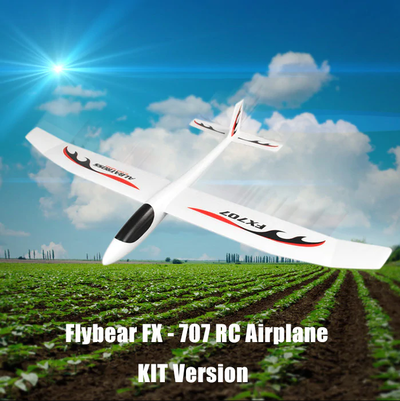 아재몰_RC비행기_Flybear FX707 Hand Throwing RC Airplane EPP 1200mm Wingspan Aircraft Fixed Wing Plane KIT for DIY