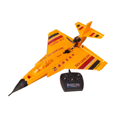 아재몰_RC비행기_HLK-31 630mm Wingspan EPP Sea-Land-Air 3 in 1 2.4Ghz 6CH Auto-return 3D Stunt RC Airplane RC Boat RC Car RTF Yellow/Black
