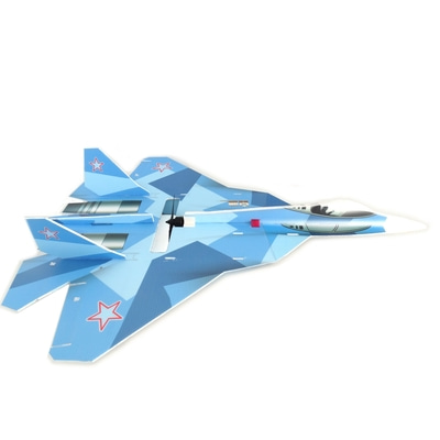 아재몰_RC비행기_T-50 5mm PP 740mm Wingspan DIY RC Airplane Drone Scale Aircraft KIT Fixed Wing Trainer