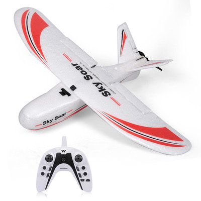 아재몰_RC비행기_Attop P01 RTF Airplane 400mm Wingspan 2.4GHz 3CH RC Aircraft Remote Controlled Fixed Wing Plane Aircraft Outdoor Toy Trainer