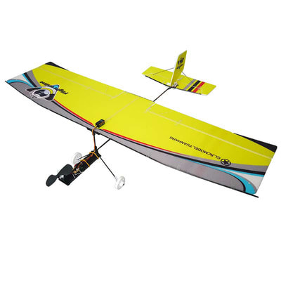 아재몰_RC비행기_580mm Wingspan Hollow Cup Mini Fixed Wing Glider Trainer Beginner RC Airplane Kit with Motor