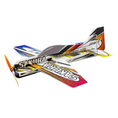 아재몰_RC비행기_SAKURA E211 MINI 3D Airplane Kit 420mm Wingspan Trainer for Beginner 3D Aerobatic RC Aircraft Stunt Plane