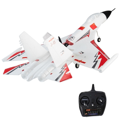 아재몰_RC비행기_SU 27 EPO 720mm Wingspan 2.4Ghz 6CH 6 Axis Gyro 3D Stunt Auto-Return RC Airplane with FC Mode 2 RTF