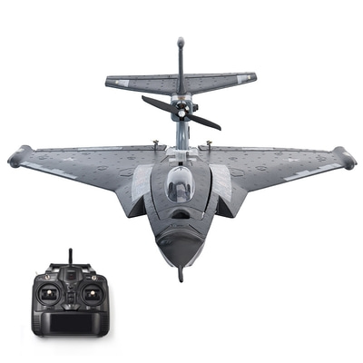아재몰_RC비행기_J11 EPP 640mm Wingspan 2.4Ghz 6CH Auto-return 3D Stunt RC Airplane with FC Mode 2 RTF Remote Controlled War Fighter Aircraft Fixed Wing Ready to Fly