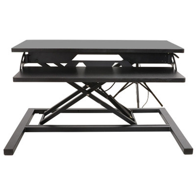 아재몰 노트북 침대 책상 트레이 거치대_KH-03 Computer Laptop Desk with Handle Sit Stand Dual Use Desk Riser Foldable Laptop Desk Stand With Keyboard Tray Notebook/Monitor Holder (1448078)