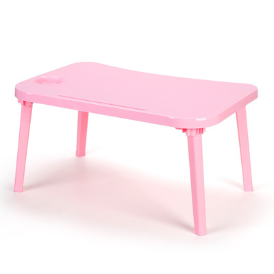 아재몰 노트북 침대 책상 트레이 거치대_Folding Laptop Desk Notebook Table Breakfast Serving Bed Trays Adjustable Foldable with Flip Top and Legs Computer Desk Stand(1608566)